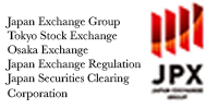Logo of JPX Japan Exchange Trade Organization