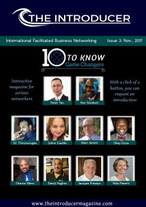 "Introducer Magazine Featuring Ken Goodwin ""10 Game Changers to Know"""